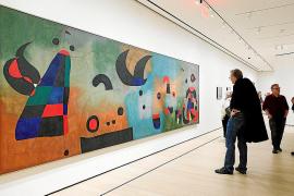 El MoMA indaga en la creatividad de Miró con 'El nacimiento del mundo'