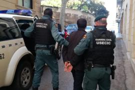 Operativo de la Guardia Civil contra el tráfico de drogas en Mallorca