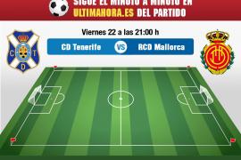 Tenerife-Real Mallorca, en directo