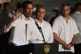 Guaidó dice que fuerzas militares de Venezuela ayudaron en su entrada a Colombia