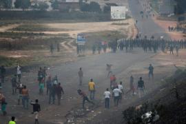 El intento de llevar ayuda a Venezuela desde Colombia se detiene por violencia