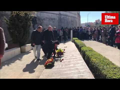 Concentración en Palma para «mantener vivo el recuerdo de los represaliados»