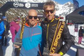 Pere Rullan, tercero en la Skimo de Andorra