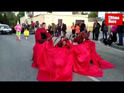 Una animada y colorida Rua de Marratxí inicia el Carnaval