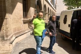'El Ico' sale de la cárcel y el juez le impone una orden de alejamiento de Son Banya