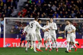 El VAR, protagonista en el triunfo del Madrid ante el Levante