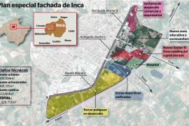 Inca adelanta a Palma y Manacor en la reconversión territorial de su fachada