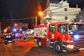 Fuego en un hostal de Can Pastilla
