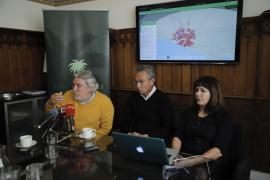 Un visor cartográfico interactivo permitirá ver Palma en distintas épocas