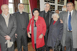 El obispo Jesús Murgui celebra su onomástica