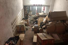 Alertan del «lamentable estado» del archivo de los juzgados de Inca