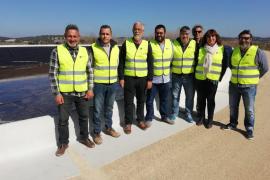 La nueva balsa de regantes dará servicio a 19 agricultores de Algaida y Montuïri