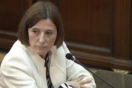 Forcadell admite la desobediencia pero no liderar el plan independentista