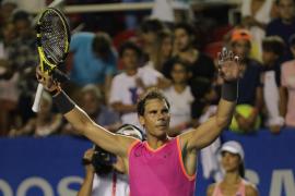 Rafa Nadal vence a Zverev y ya camina hacia el título en Acapulco