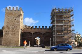 La muralla de Alcúdia estará rehabilitada antes del verano