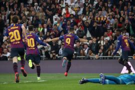 El Barça más práctico ejerce de campeón ante el Real Madrid