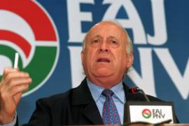 Fallece el histórico dirigente del PNV Xabier Arzalluz