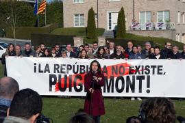La policía belga abre expediente a Cs por el acto de Arrimadas ante la casa de Puigdemont