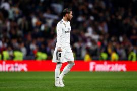Dos partidos de sanción a Sergio Ramos