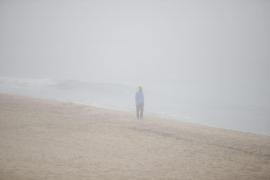 Palma amanece bajo un manto de niebla