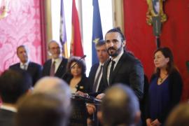 Picornell resalta en el Dia de les Illes Balears la aprobación de leyes, aunque advierte de la pobreza en las Islas