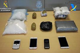 Una banda de narcos afronta 49 años de cárcel por introducir cocaína en Mallorca