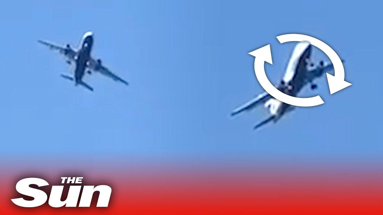 El arriesgado intento de aterrizaje de un avión en Gibraltar