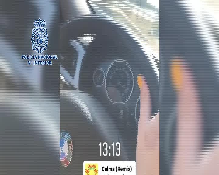 Detienen a una menor por conducir a más de 220 km/h y colgarlo en redes sociales