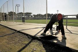La policía investiga el robo de más de mil metros de cableado en el campo de fútbol del Sant Jordi