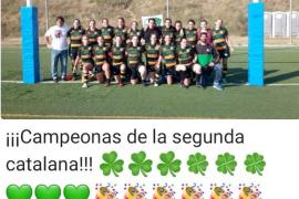 El Shamrock, campeón de la Segunda catalana de rugby