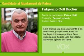 Fulgencio Coll: Un general en el Ajuntament de Palma