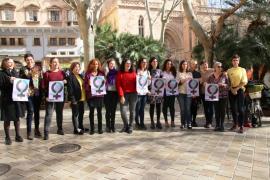 Las mujeres del equipo de gobierno de Cort se adhieren a la huelga del 8M