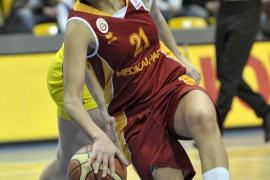 Alba Torrens (Galatasaray) se lesiona en el partido contra el Lotos Gdynia