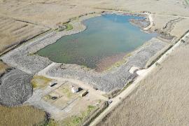 S'Albufera estrena una nueva laguna de aguas profundas en sa Pobla