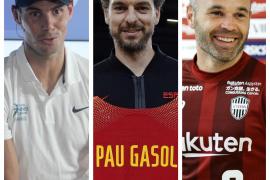 Nadal, Gasol e Iniesta, los más conocidos y mejor valorados por los españoles