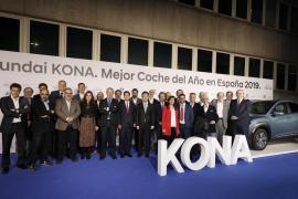 El Hyundai KONA recibió el premio Mejor Coche del Año 2019 ABC