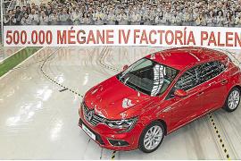Renault Palencia produce el Mégane IV número 500.000