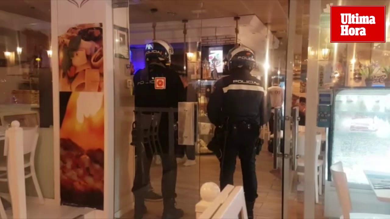 Golpe policial al pirateo de los partidos de fútbol en más de 100 bares de Mallorca