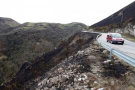 Asturias registra 22 incendios forestales, 16 de ellos activos