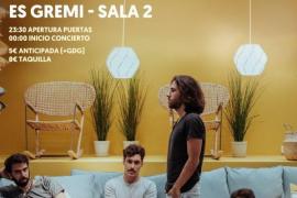 Gira Sofá Paraíso 2019: concierto de Claim junto a Urtain en Es Gremi
