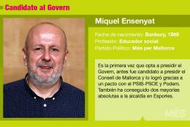 Miquel Ensenyat, un amante de las tradiciones que aspira a presidir el Govern