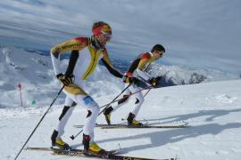 Pere Rullan, al Mundial de Esquí de Montaña