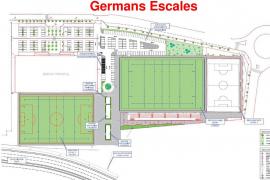 El polideportivo Germans Escalas contará con un campo de rugby homologado