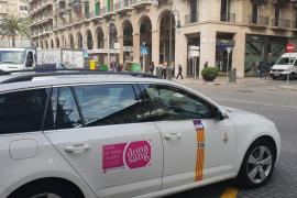 Un total de 60 taxis de Mallorca llevarán información sobre la donación de sangre