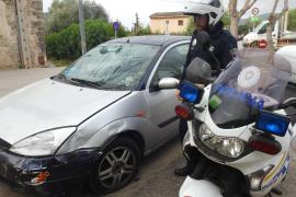 Detenido un conductor en Andratx tras provocar un accidente y darse a la fuga