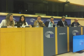 Malena Contestí (Vox) expone en la Eurocámara «la deriva separatista» del Govern balear