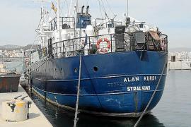 El 'Alan Kurdi' vuelve a Palma sin inmigrantes