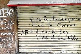 Condenado por unas pintadas ultras y con insultos a Noguera