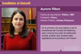 Aurora Ribot, una física muy preocupada por el cambio climático