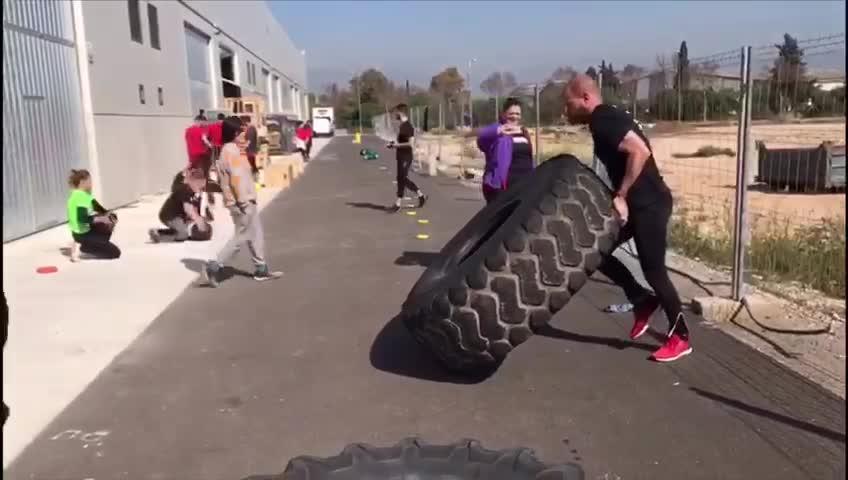 Último entreno para la Spartan Race